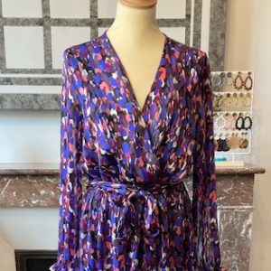 Robe Longue SARAH Bleu