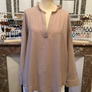 Chemise CARLA taupe