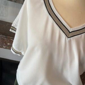 tshirt blanc grande taille