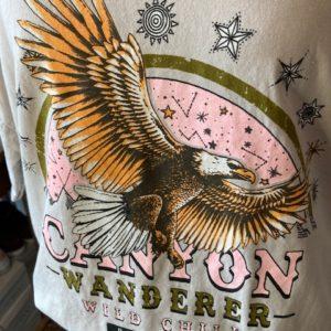 tshirt oversize aigle beige