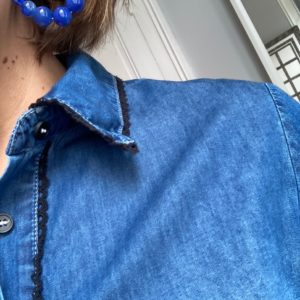 chemise jean croquet