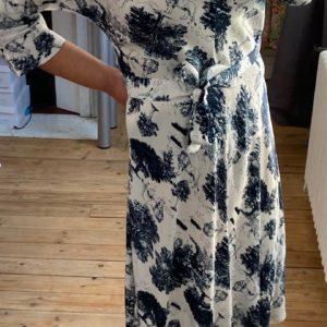 robe longue jouy marine