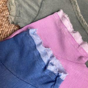 tshirt coton cintré